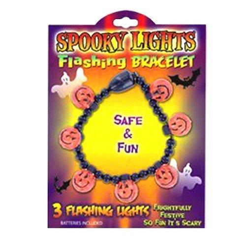 Halloween Spooky Lights Flashing Bracelet