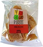 Mintons Good Food Pre-Packed Dried Peach Havles 250 g (Pack of 10)
