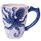 Stoneware Octopus Mug
