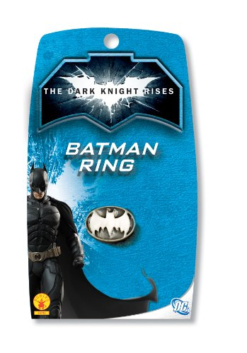 Batman: The Dark Knight Rises: Batman Ring (White) - 1