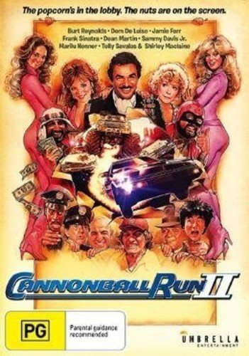DVD : Cannonball Run II (Australia - Import, NTSC Region 0)