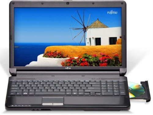 Fujitsu Lifebook AH530 15.6 Notebook (2.26 GHz Intel Core i3-350M Processor, 4 GB RAM, 500 GB Hard Urge, Windows 7 Home Premium)