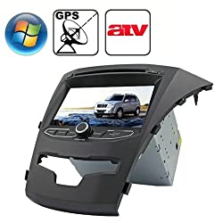 See Rungrace 7.0 inch Windows CE 6.0 TFT Screen In-Dash Car DVD Player for Ssangyong Korando with Bluetooth / GPS / RDS / ATV Details