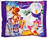 Cadbury Christmas 5 Piece Treat Size Selection Pack - Cadbury Chocolate