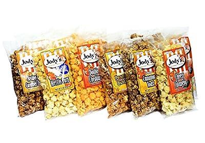 Jody's Gourmet Popcorn Sampler Pack, 4.95 Pound