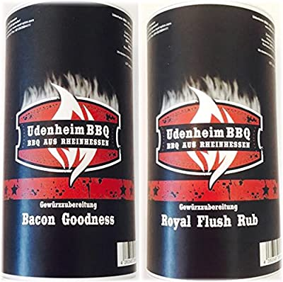 Udenheim Großes Rub Set 2 x 300gr (1x Bacon Goodness, 1x Royal Flush Rub) von Royal Spice bei Gewürze Shop