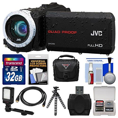 JVC Everio GZ-R10 Quad Proof Full HD Digital Video Camera Ca
