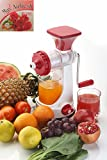 Ganesh Fruits & Vegetable Juicer With Steel Handle Multicolor (Improved quality) With Fragrance Booster
