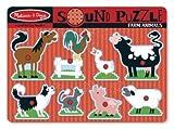 USA Wholesaler- 17249201-Farm Animals Sound Puzzle