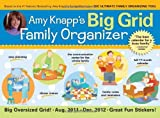 img - for 2012 Amy Knapp's Big Grid Family Organizer wall calendar: The essential organization and communication tool for the entire family book / textbook / text book