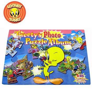 Warner Bros Entertainment Tweetys Photo Puzzle Album