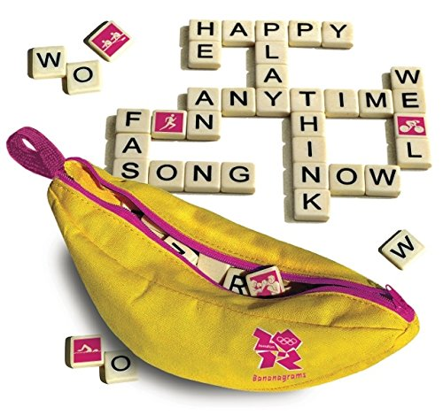 Olympic Bananagrams Board Game,Yellow - 1