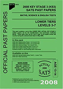 2008 key stage 3 ks3 qca sats past papers maths science. Black Bedroom Furniture Sets. Home Design Ideas