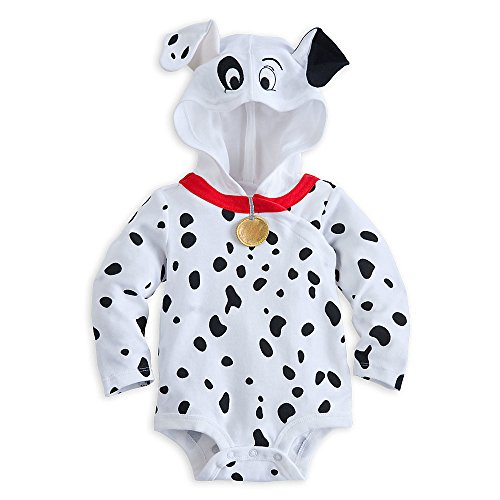 Disney Store 101 Dalmations Puppy Costume Hooded Size 3 - 6 Months