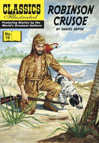 Defoe - Robinson Crusoe (with panel zoom) - Classics Illustrated
