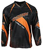 Heyberry Motocross MX Shirt Jersey Trikot schwarz orange Größe XXL