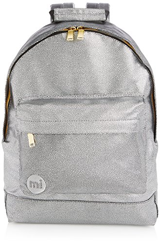 Mi-Pac , Zaino Casual  unisex adulto Multicolore Pebbled Silver/Black