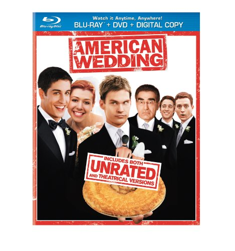 Cover art for  American Wedding (Blu-ray + DVD + Digital Copy)