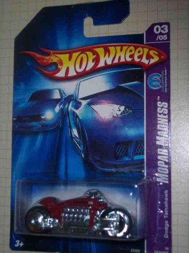 Mopar Madness Series #3 Dodge Tomahawk Red #2006-63 Collectible Collector Car Mattel Hot Wheels
