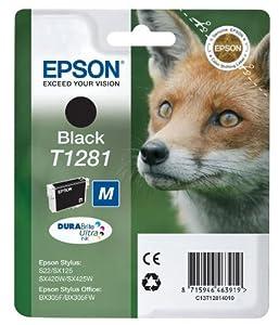 Epson C13T12814010 - EPSON T1281 Black Ink 5.9ml