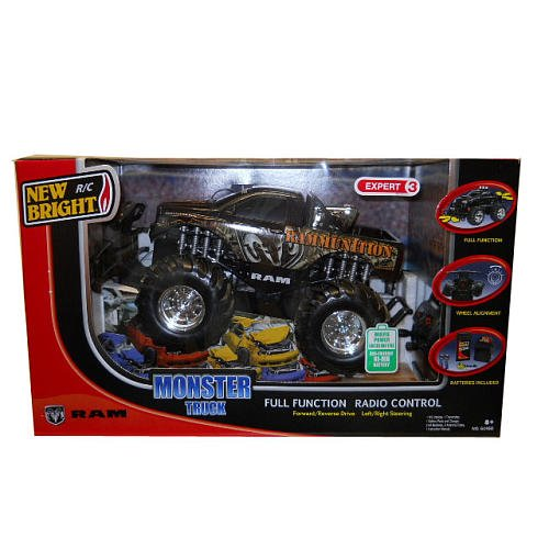 New Bright - 1:14 Radio Control Monster Truck Ford Big Foot