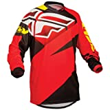 367-922YS - Fly Racing 2014 Youth F-16 Motocross Jersey S Red/Black