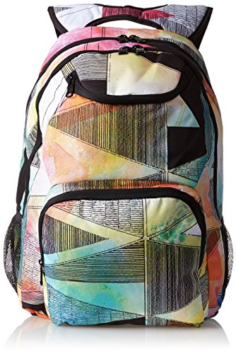 Roxy Juniors Shadow Swell 2 Backpack, Playground True Black, One Size image