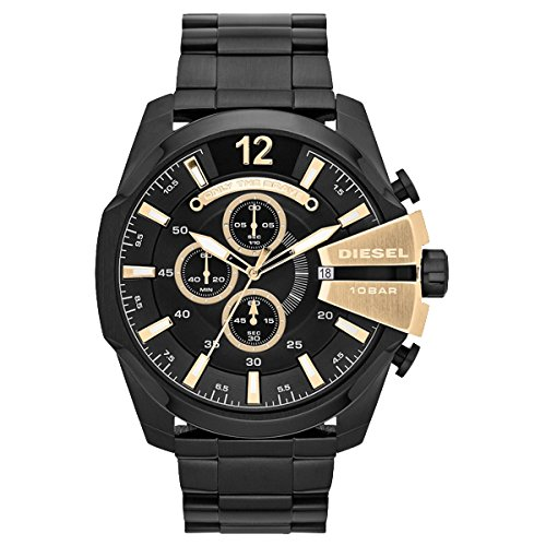 DIESEL ディーゼル MEGA CHIEF メガチーフ 【国内正規品】 腕時計 DZ4338