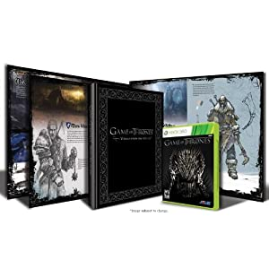 Game of Thrones Art Book Bundle XBox 360 Video Game