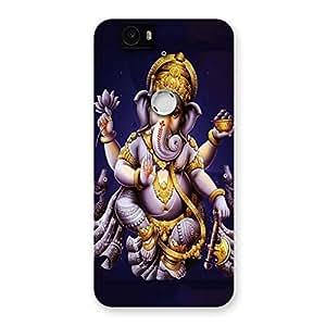 Delighted Dancing Ganesha Back Case Cover for Google Nexus-6P