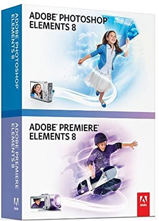 Adobe Photoshop Elements 8 and Premiere Elements 8 Bundle (PC DVD)