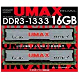 UMAX DDR3-1333(8GB*2) Dual Set  Cetus DCDDR3-16GB-1333