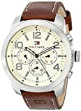 Tommy Hilfiger Men's 1791107 Casual Sport Analog Display Quartz Brown Watch
