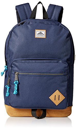 steve-madden-mens-solid-nylon-classic-backpack-navy-one-size