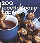 200 recettes pour l'ap�ro