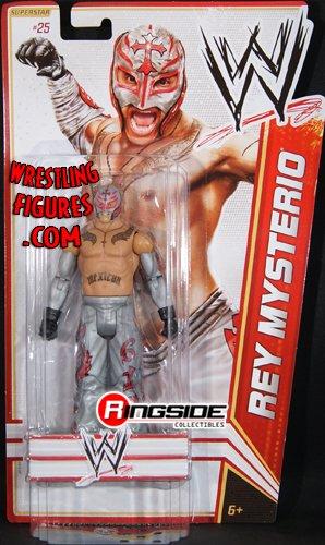 Mattel WWE Wrestling Basic Series 17 2012 Series 5 Action Figure #25 Rey Mysterio