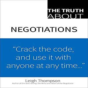 The Truth about Negotiations Audiobook