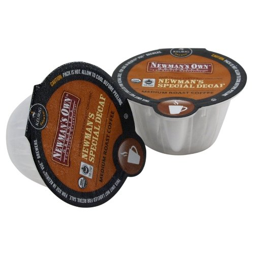 Newman'S Own Organics Special Blend Decaf Coffee Keurig Vue Portion Pack, 64 Count