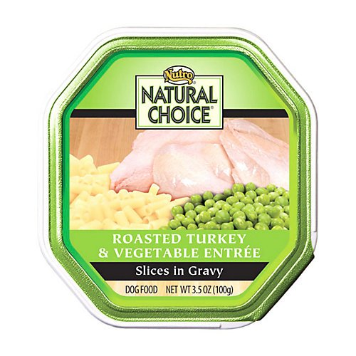 Natural Choice Small Breed Adult For Dog, Color: Turkey/Vegetabl , Size: 3.5 Ounce, Count: 24