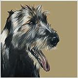 Seamus the Irish Wolfhound BLANK Greeting Card