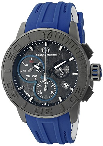 technomarine-mens-tm-515003-titanium-reef-analog-display-swiss-quartz-blue-watch