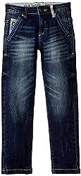 US Polo Association Boys' Jeans (UKJN5199_Blue_EXS)
