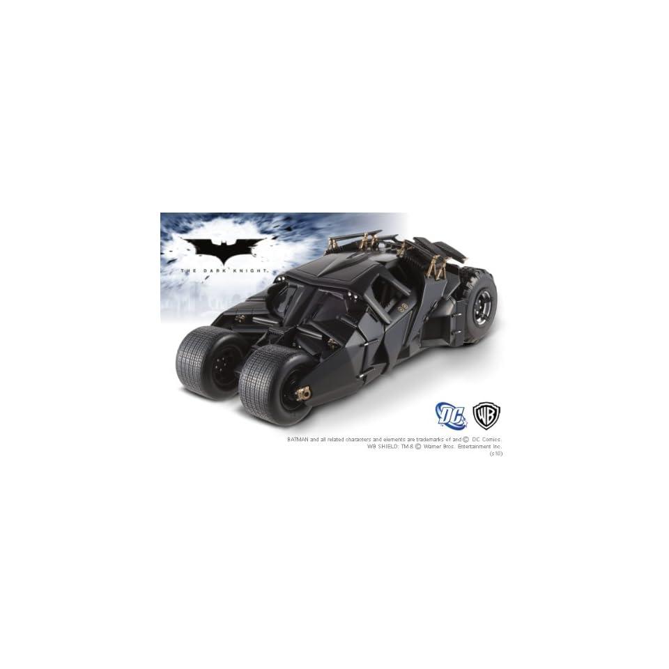 batman arkham knight batmobile modell 1/18 hotwheels elite edition