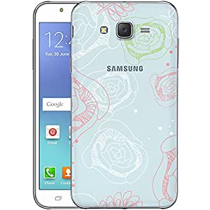 Digione designer Back Replacement Texture Plastic Cover Panel Battery Cover Snap on Case Cover for Samsung Galaxy J7 2015 ID:J8131
