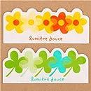 flower and clover Baran set divider sheets Bento Box Lunch Box