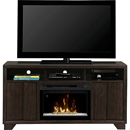 Dimplex Bayne Electric Fireplace & Entertainment Center - Acrylic Ice Firebox (Gds25G-1411Byg)