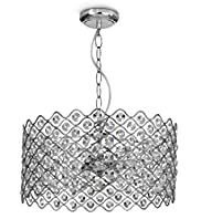 Grace Glass Drum Chandelier