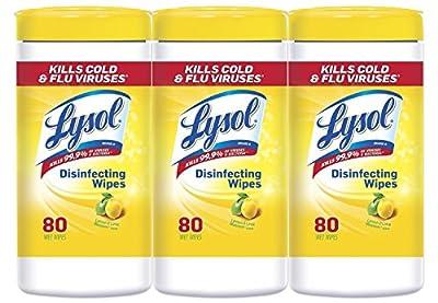 Lysol Disinfecting Wipes Value Pack, Lemon & Lime Blossom