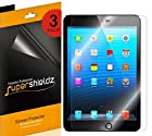 [3-Pack] SUPERSHIELDZ- Apple iPad mini 3 / iPad mini 2 / iPad mini Screen Protector Anti-Bubble High Defintion (HD) Clear shield + Lifetime Replacements Warranty [3-PACK] - Retail Packaging