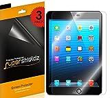 SUPERSHIELDZ- Anti-Glare & Anti-Fingerprint (Matte) Screen Protector For iPad Mini 3, iPad Mini 2 & iPad Mini + Lifetime Replacements Warranty -[3-Pack] Retail Packaging